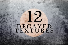 Decayed Textures by Carlyartdaily